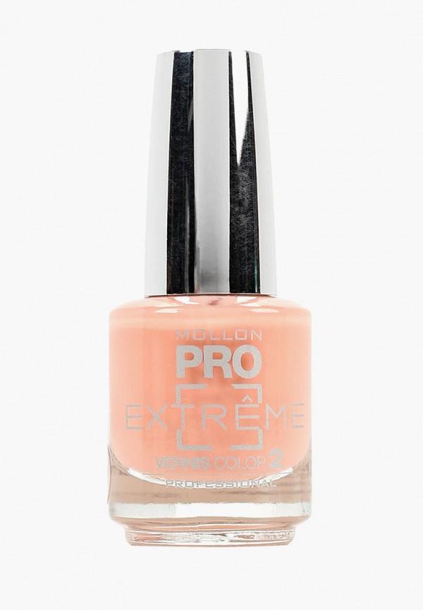 лак для ногтей mollon pro, оранжевый