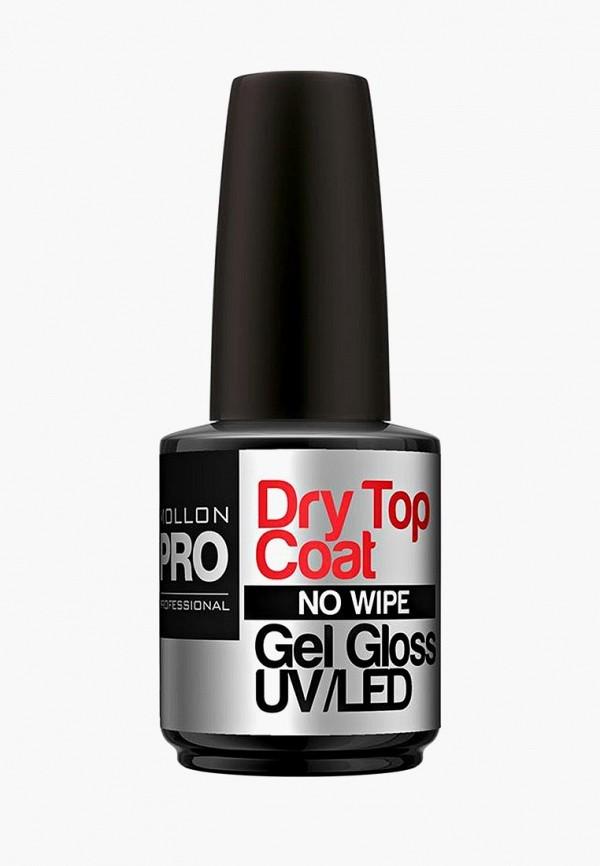 Купить Топовое покрытие Mollon Pro, без липкого слоя, UV/LED DRY TOP COAT/NO WIPE, 12 мл, mo075lwdomj0, прозрачный, Весна-лето 2019
