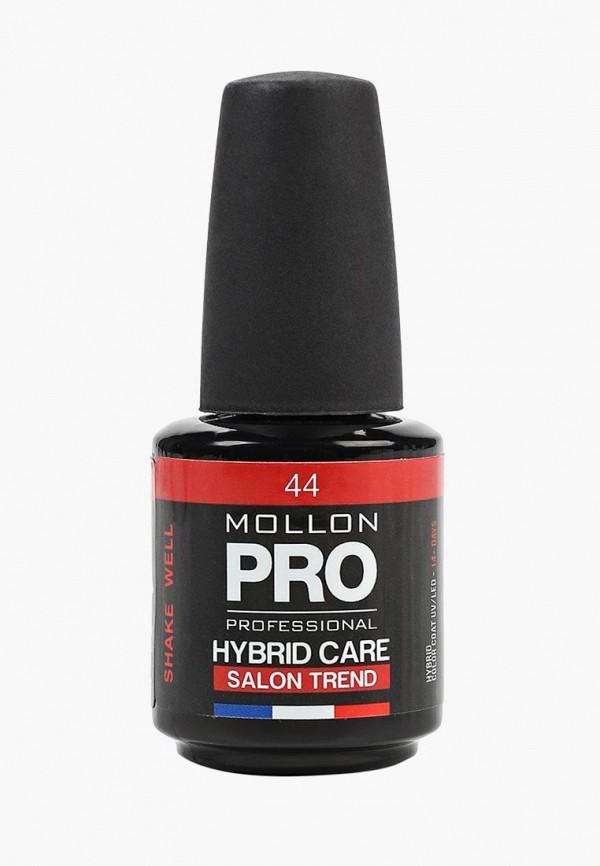 лак для ногтей mollon pro, красный