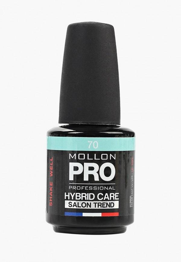 женский лак для ногтей mollon pro, бирюзовый
