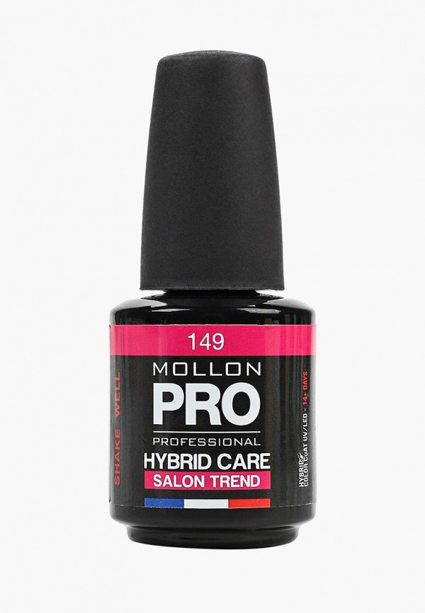 лак для ногтей mollon pro, розовый