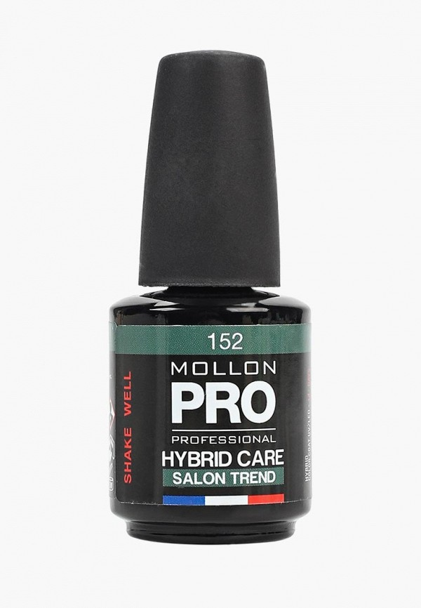 женский лак для ногтей mollon pro, зеленый
