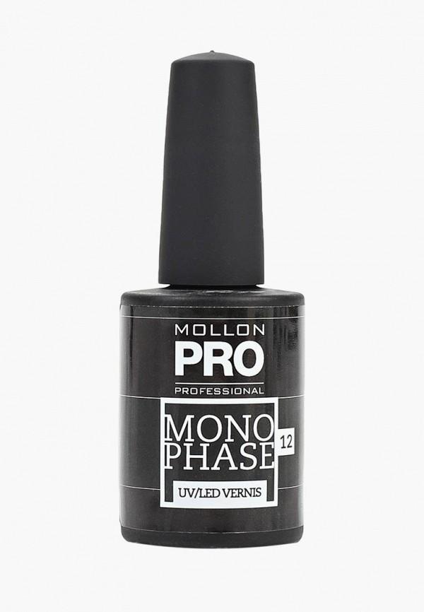 лак для ногтей mollon pro, черный