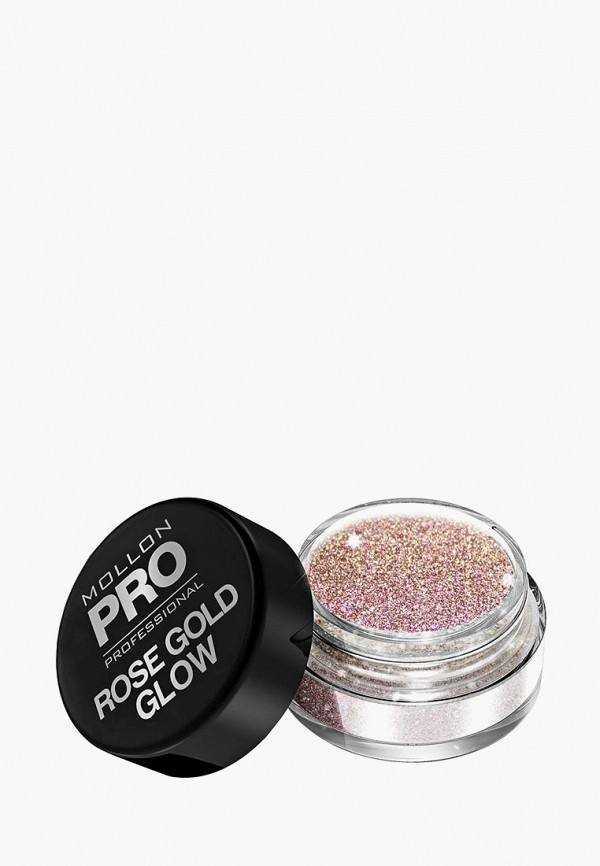 Купить Пудра Mollon Pro, для дизайна ногтей ROSE GOLD GLOW, №300 5 гр, mo075lwdomt5, розовый, Весна-лето 2019