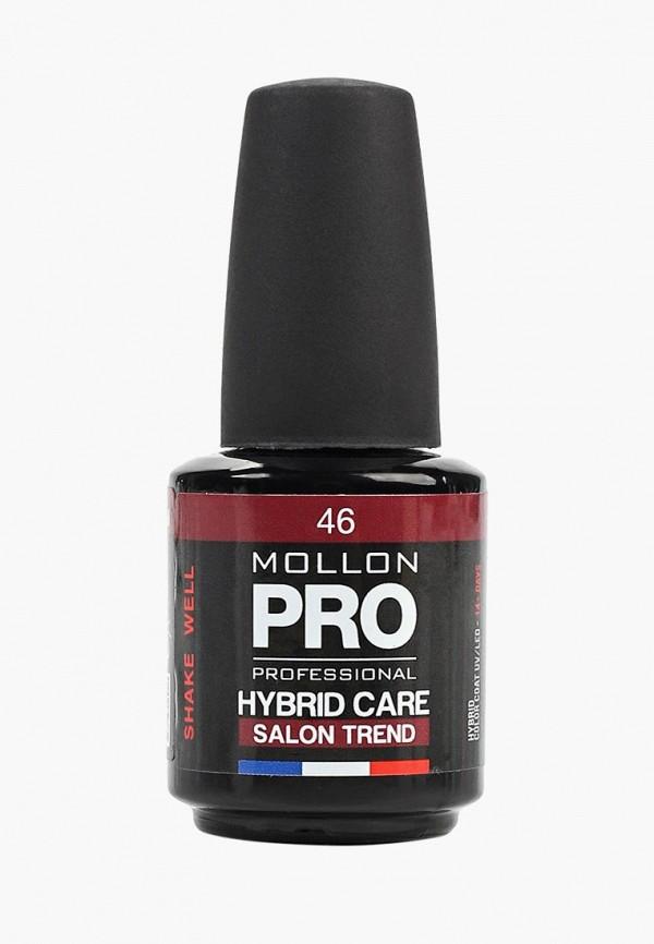 женский лак для ногтей mollon pro, бордовый