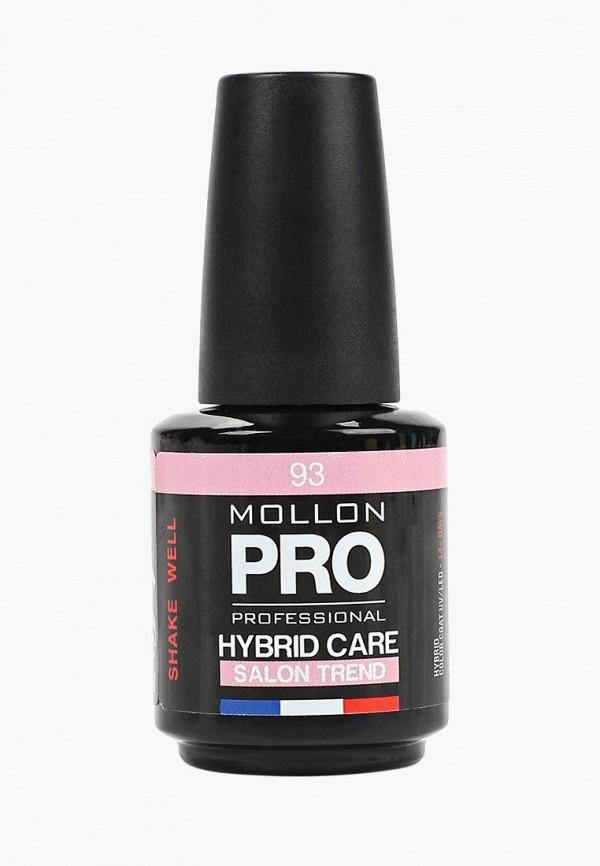 женский лак для ногтей mollon pro, розовый