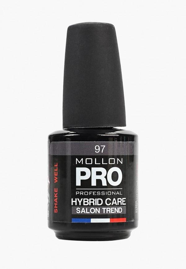 лак для ногтей mollon pro, серый