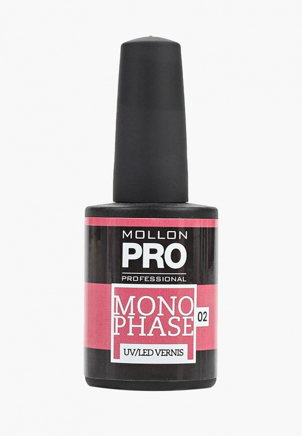 Купить Гель-лак для ногтей Mollon Pro, №02 10 мл, mo075lwdomx8, розовый, Весна-лето 2019