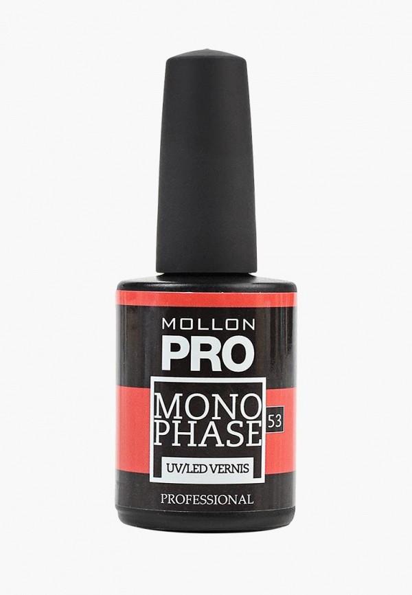 женский лак для ногтей mollon pro, красный