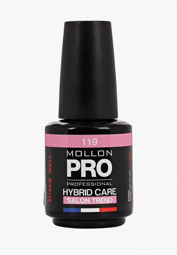 Купить Гель-лак для ногтей Mollon Pro, Тон 119, mo075lweazt8, розовый, Весна-лето 2019