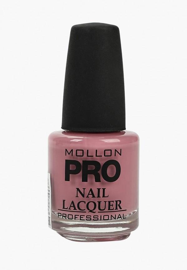 Купить Лак для ногтей Mollon Pro, с закрепителем HARDENING NAIL LACQUER №006 15 мл, mo075lwengd7, розовый, Весна-лето 2019