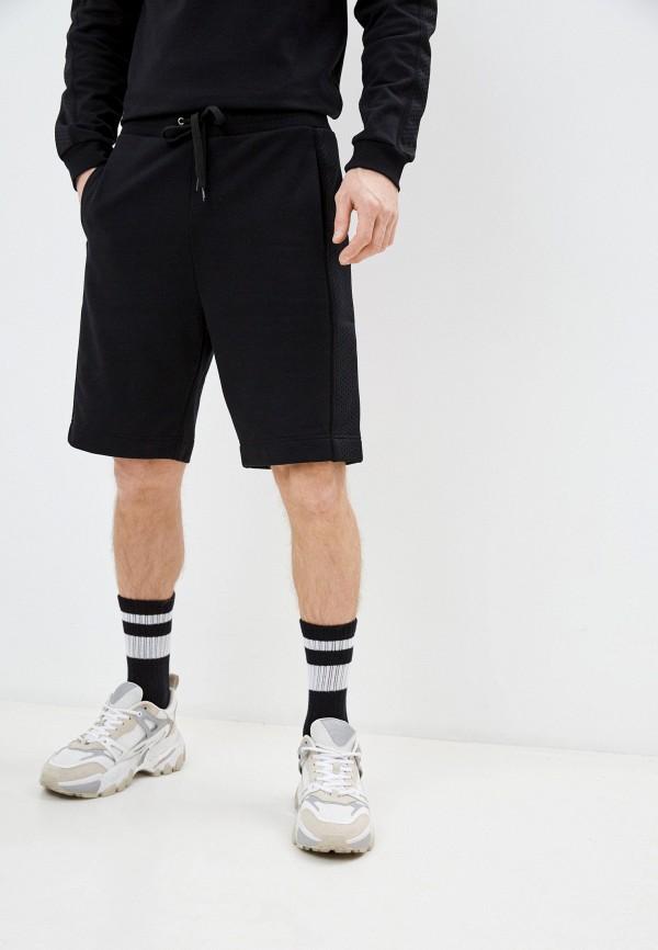 мужские спортивные шорты moschino swim, черные