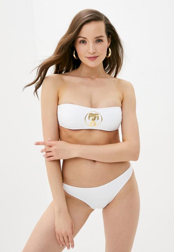 женские плавки moschino swim, белые