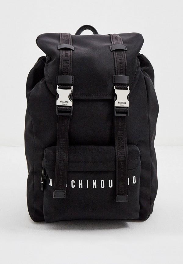 мужской рюкзак moschino couture, черный