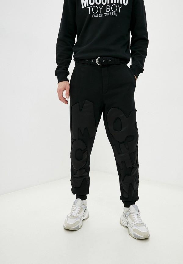мужские повседневные брюки moschino couture, черные