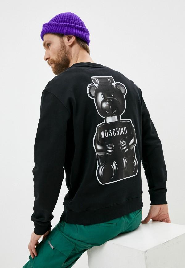 мужской свитшот moschino couture, черный