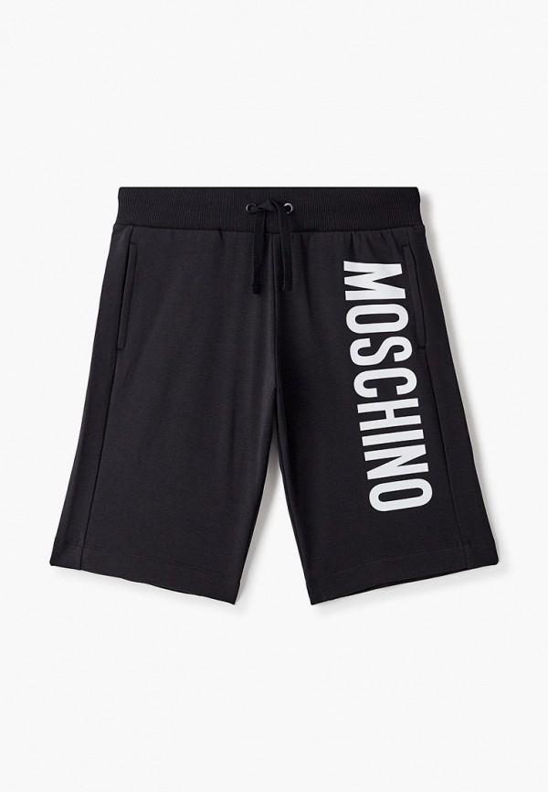 спортивные шорты moschino kid для мальчика, черные