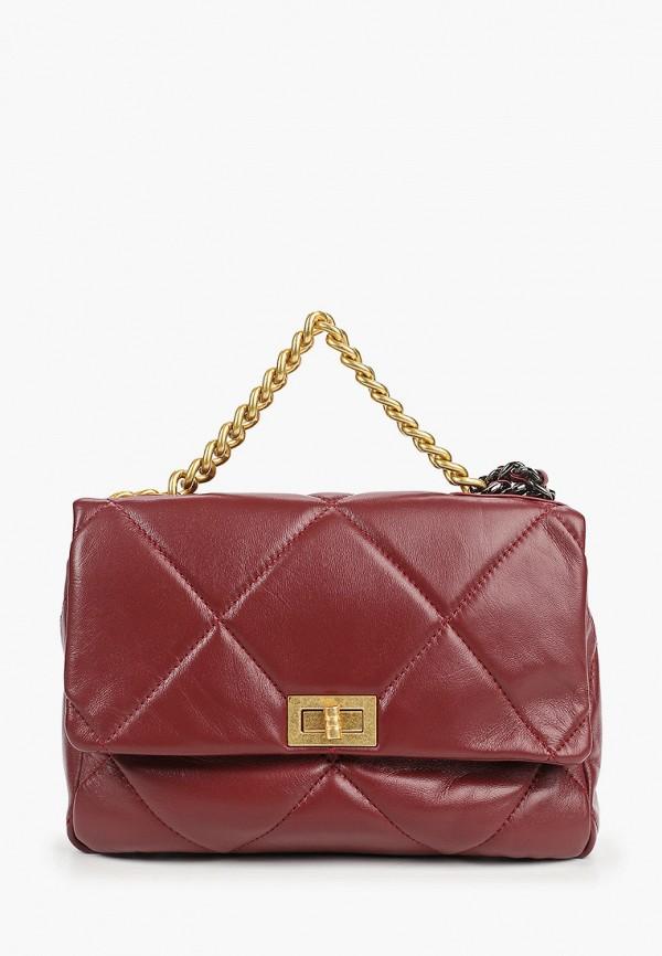 женская сумка moda sincera, бордовая