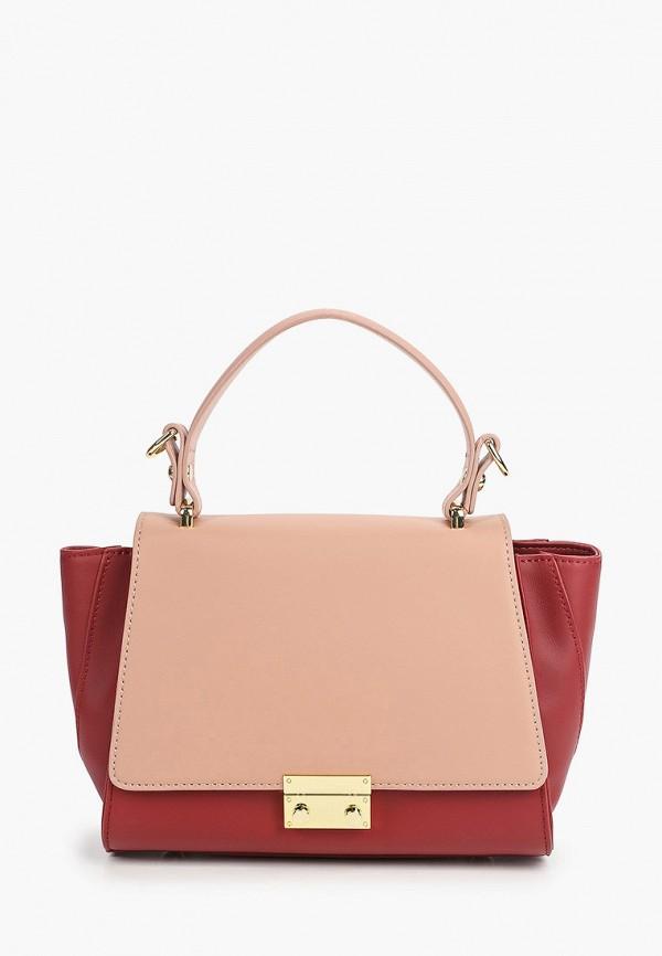 женская сумка moda sincera, розовая