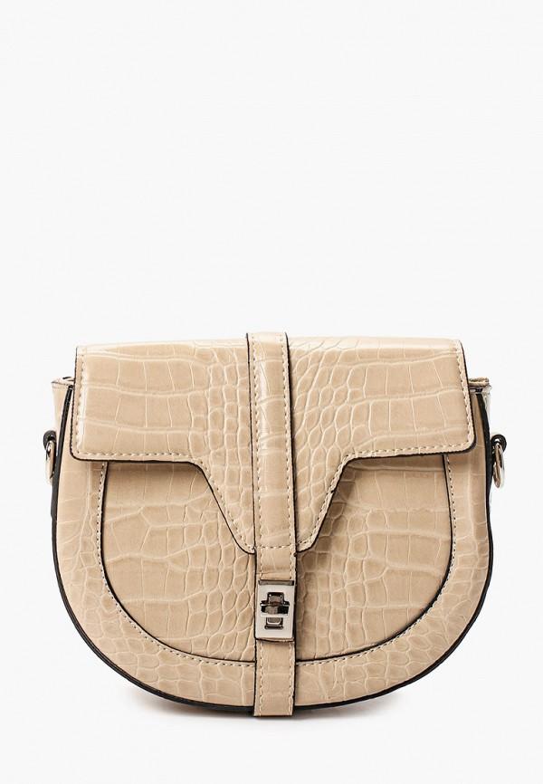женская сумка moda sincera, бежевая
