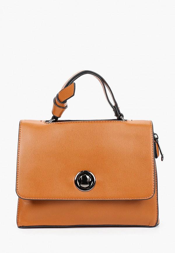 женская сумка moda sincera, коричневая