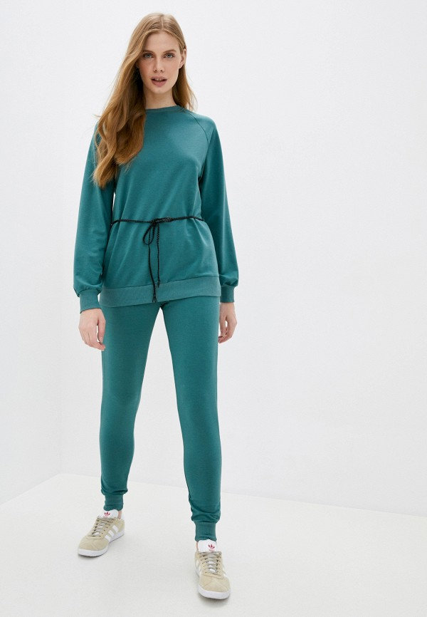 женский спортивный костюм moda sincera, зеленый