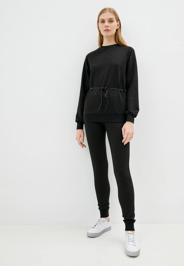 женский спортивный костюм moda sincera, черный