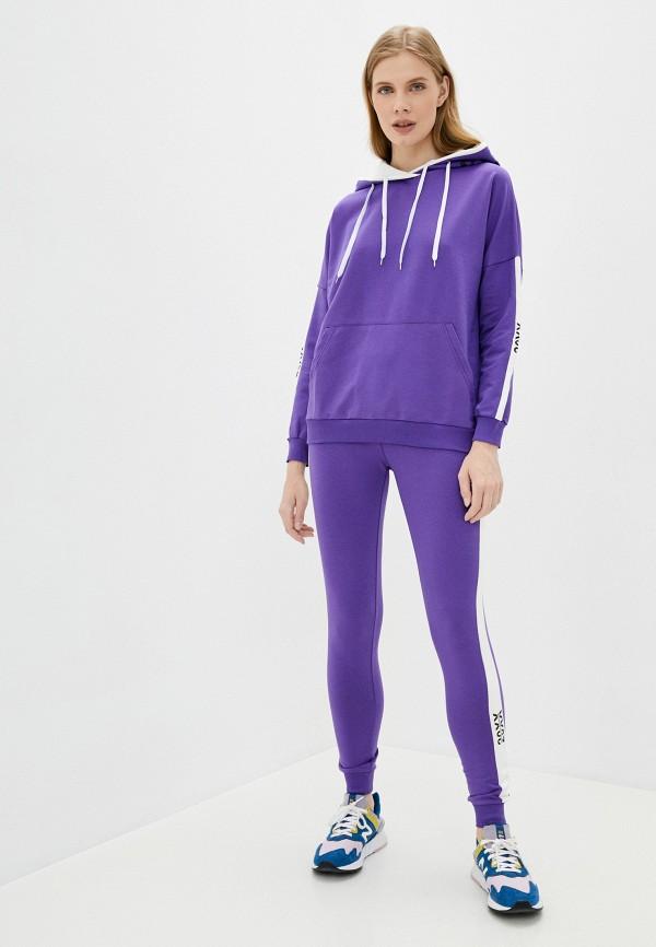 женский спортивный костюм moda sincera, фиолетовый