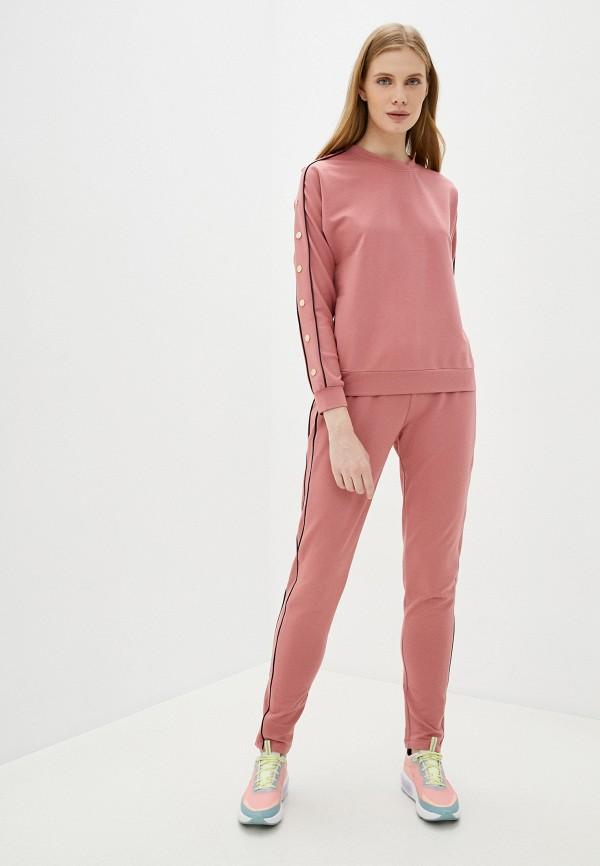 женский спортивный костюм moda sincera, розовый