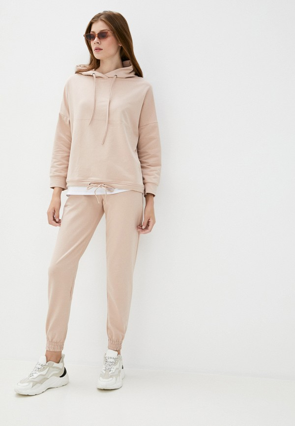 женский спортивный костюм moda sincera, бежевый