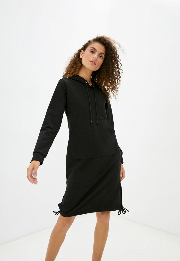 женское платье moda sincera, черное