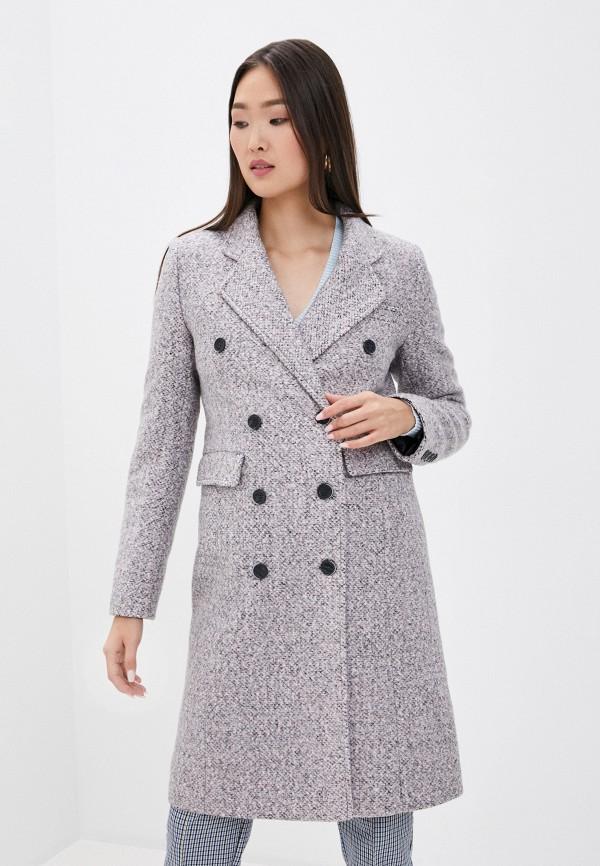 женское пальто moda sincera, розовое