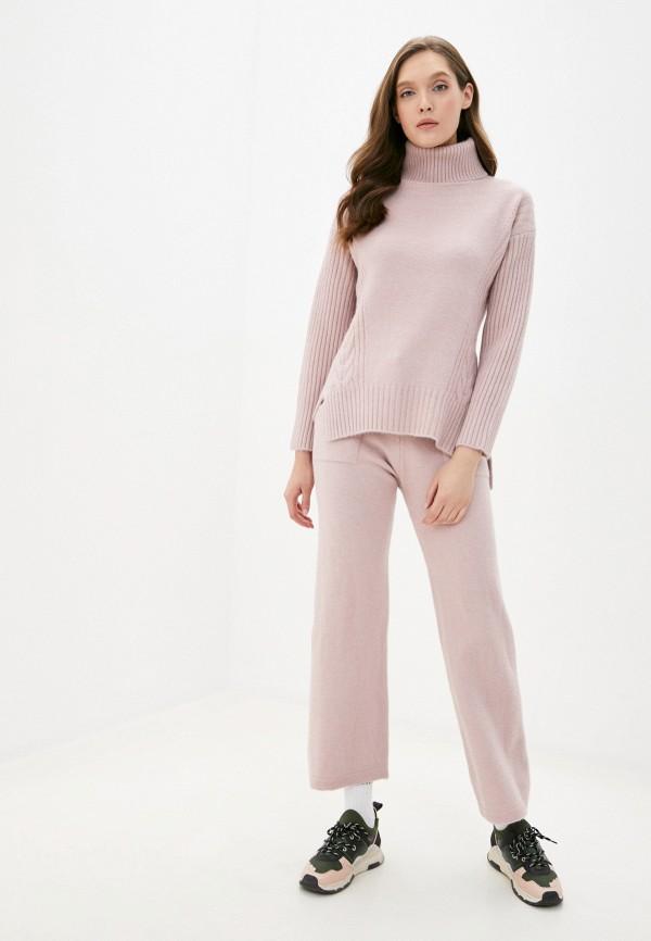 женский костюм moda sincera, розовый