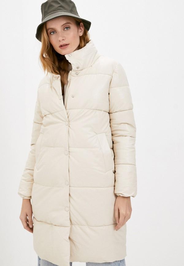 женская куртка moda sincera, бежевая