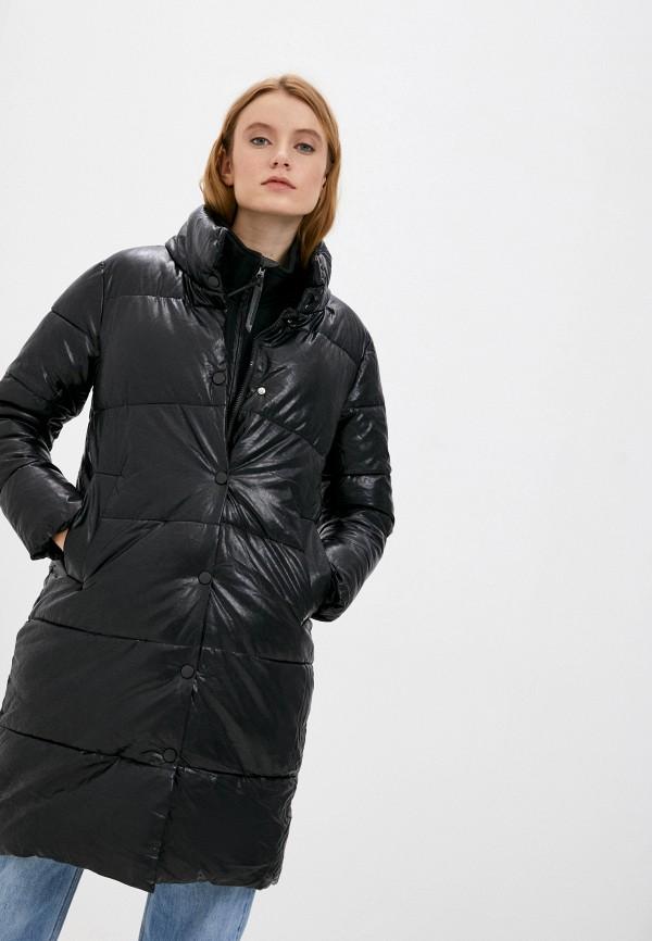 женская куртка moda sincera, черная
