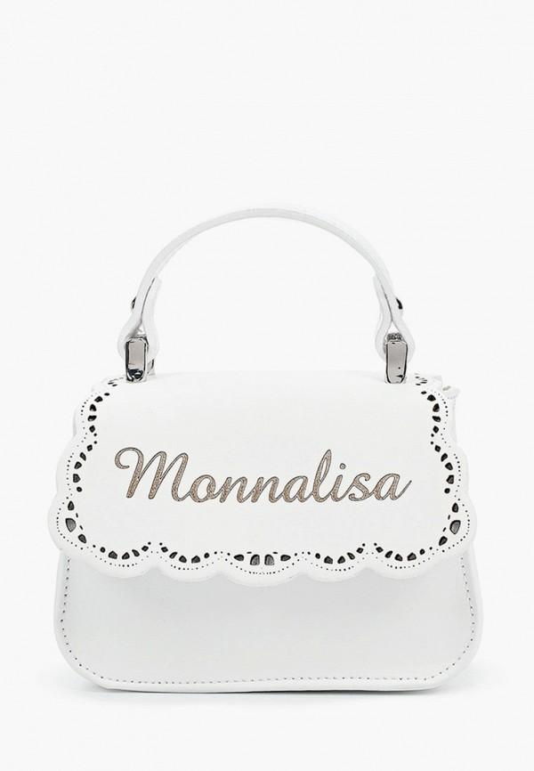 сумка monnalisa для девочки, белая