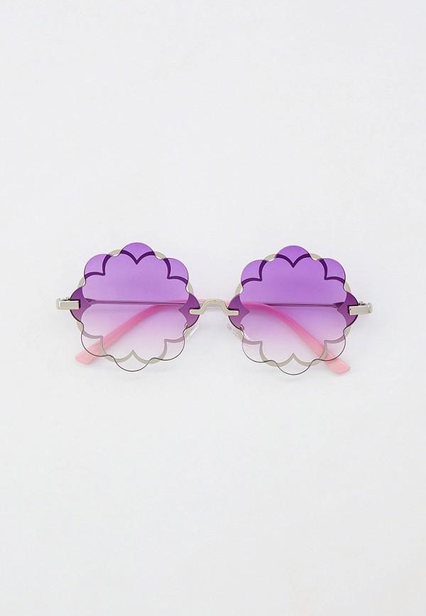 солнцезащитные очки monnalisa для девочки, фиолетовые