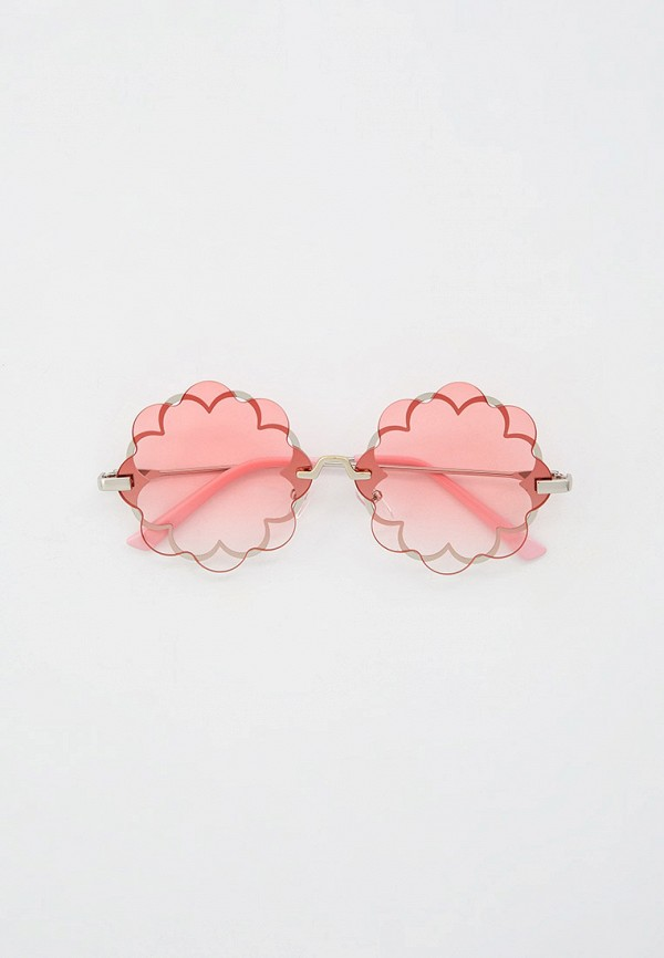 солнцезащитные очки monnalisa для девочки, розовые