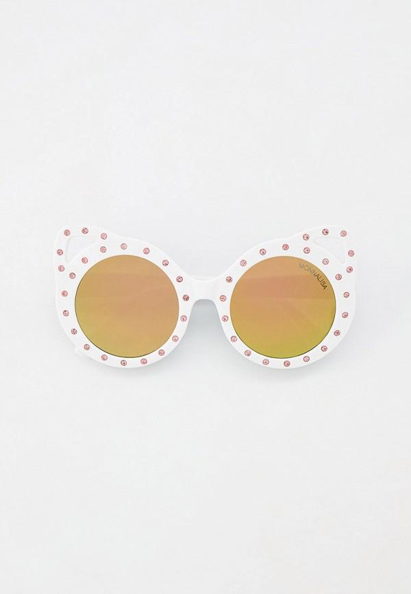 солнцезащитные очки monnalisa для девочки, бежевые