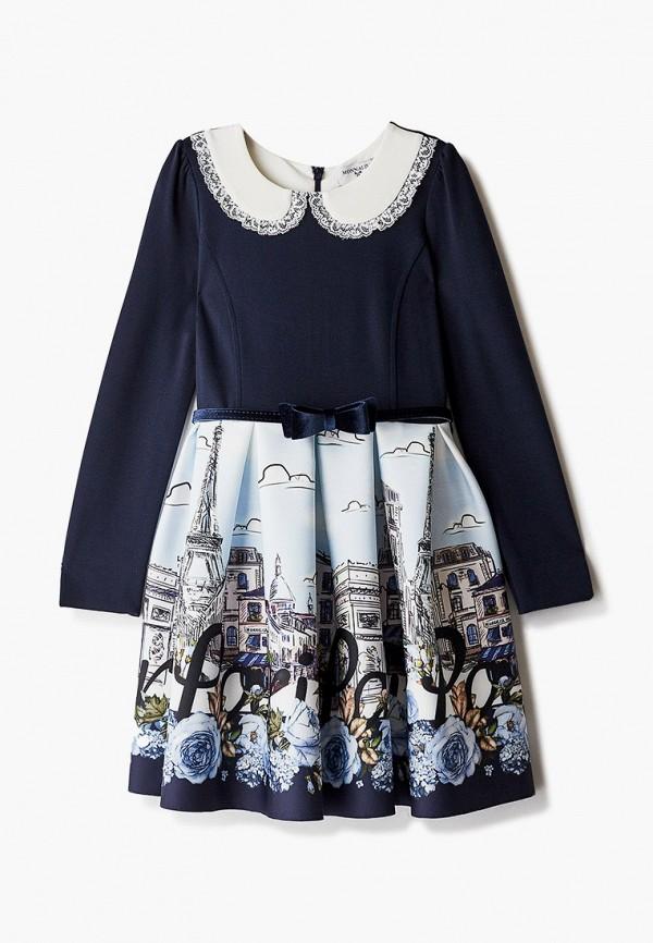 платье monnalisa для девочки, синее