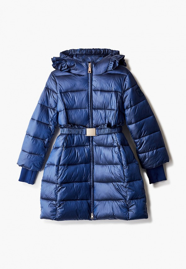 куртка monnalisa для девочки, синяя