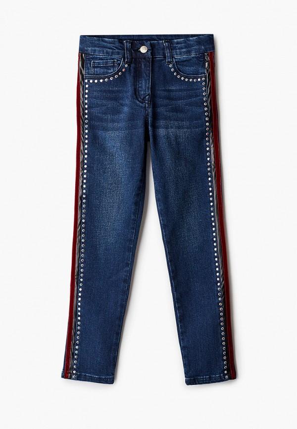 джинсы monnalisa для девочки, синие