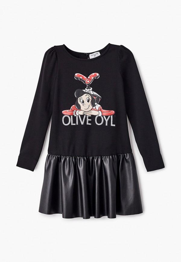 повседневные платье monnalisa для девочки, черное