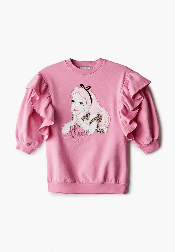 Платье Monnalisa розового цвета