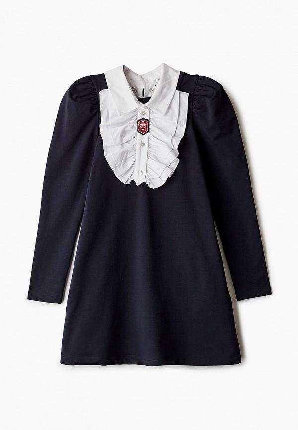 повседневные платье monnalisa для девочки, синее