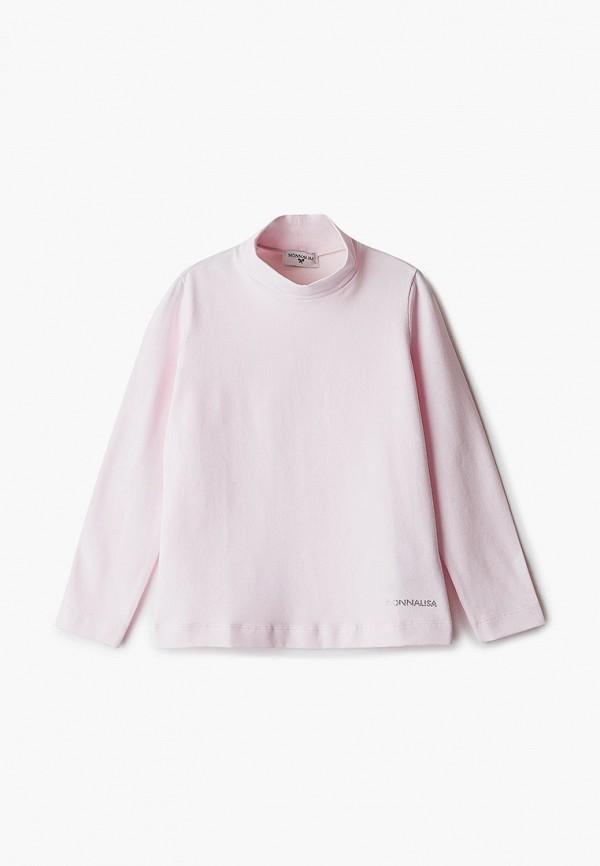 водолазка monnalisa для девочки, розовая