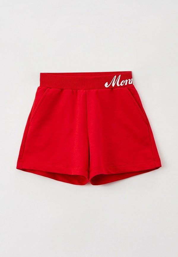 спортивные шорты monnalisa для девочки, красные