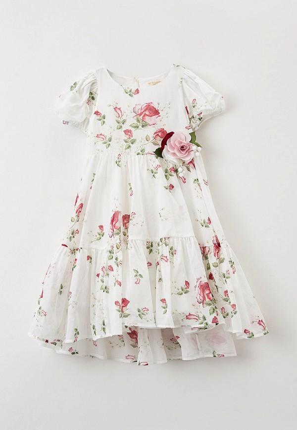 платье monnalisa для девочки, белое