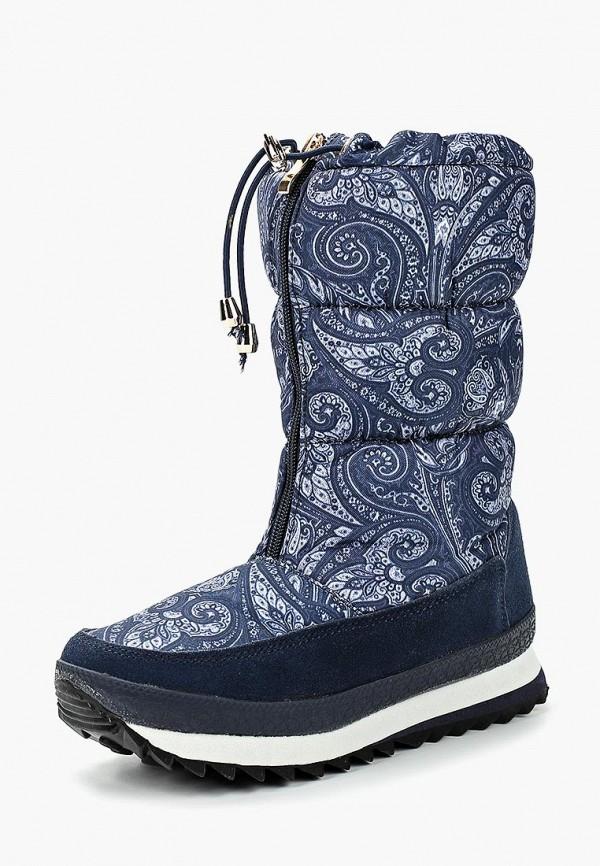 Купить Дутики Mon Ami, MO151AWBZAF6, синий, Осень-зима 2018/2019