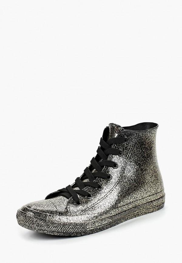женские ботинки mon ami, золотые